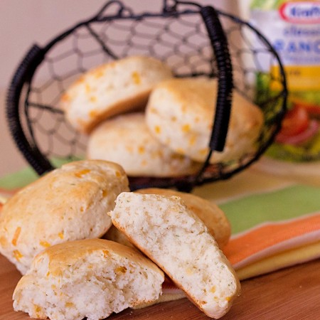 Easy Cheesy Ranch Biscuits Recipe