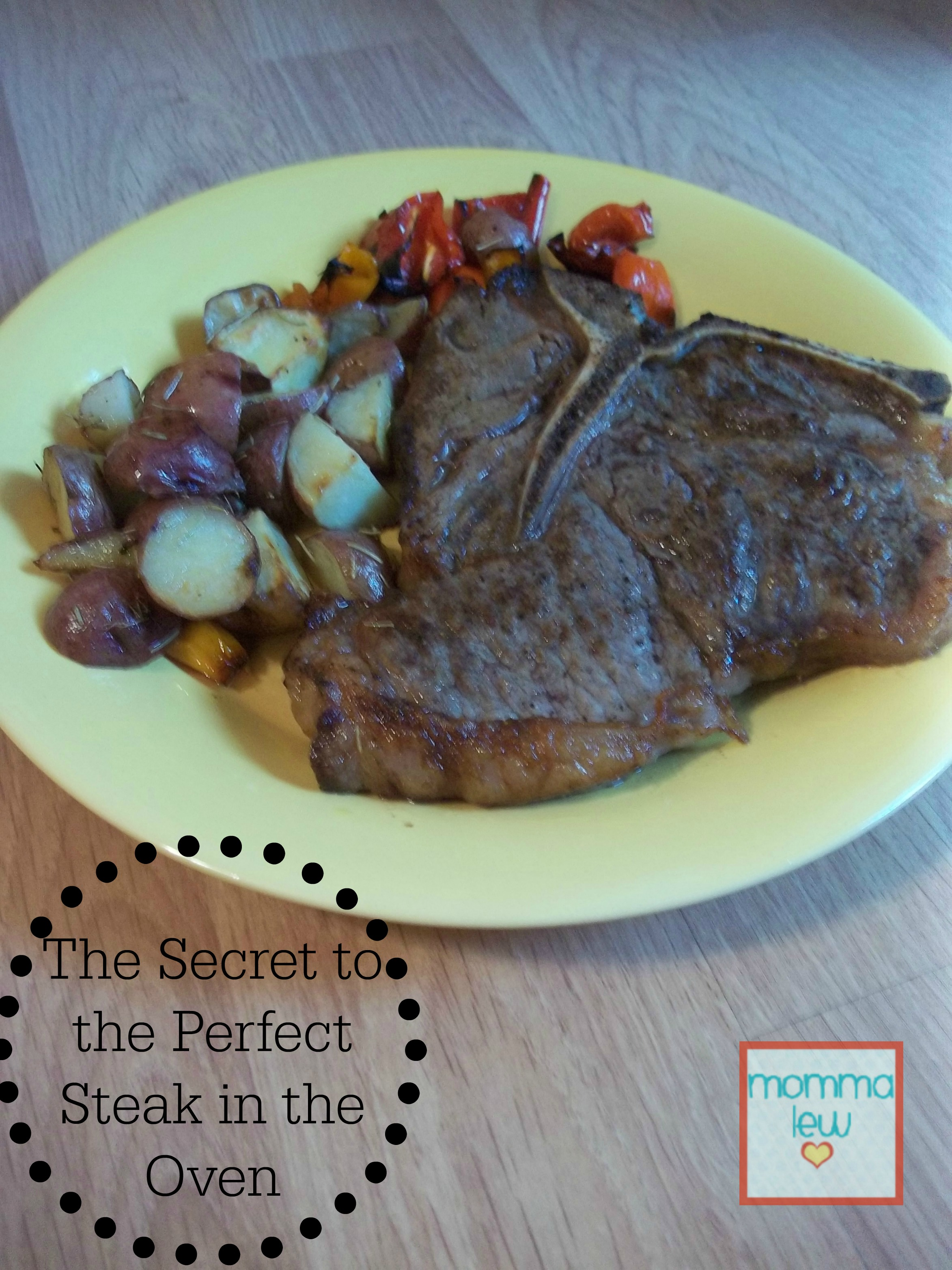 Learn how to oven cook steak to juicy perfection!