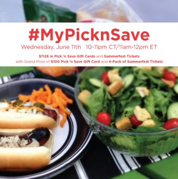 RSVP for the #TwitterParty for #MyPicknSave sweepstakes on Twitter #shop