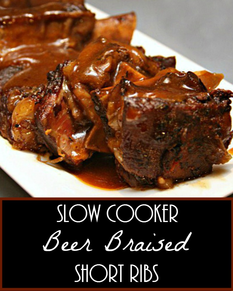 Slow Cooker Beer Braised Short Ribs Recipe It S Yummi