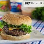 Spicy Ranch Burgers from ItsYummi.com