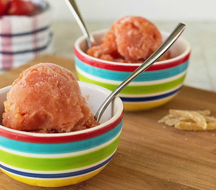 What an awesome summer dessert #recipe! Virgin Mary Sorbet from ItsYummi.com #DinnerDone #shop