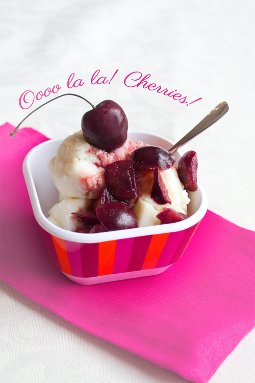 Ice Cream Sundae with Cherry Wine Sauce is one of 15 Ice Cream Sundae Recipes to keep you cool this summer!