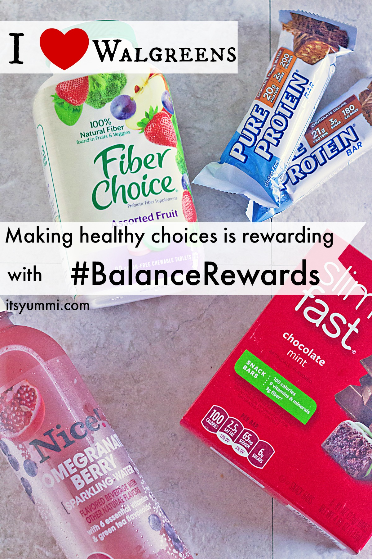 Making healthy choices is rewarding with the Walgreens #BalanceRewards app