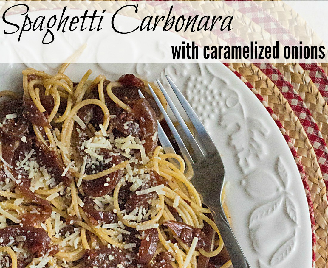 Spaghetti Carbonara with Browned Butter