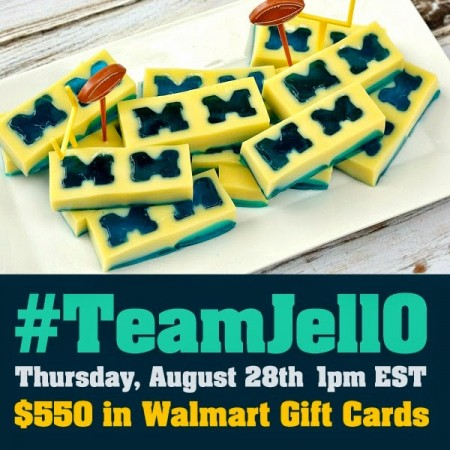 It's Tailgating Time! Join the #TeamJellO Twitter Party