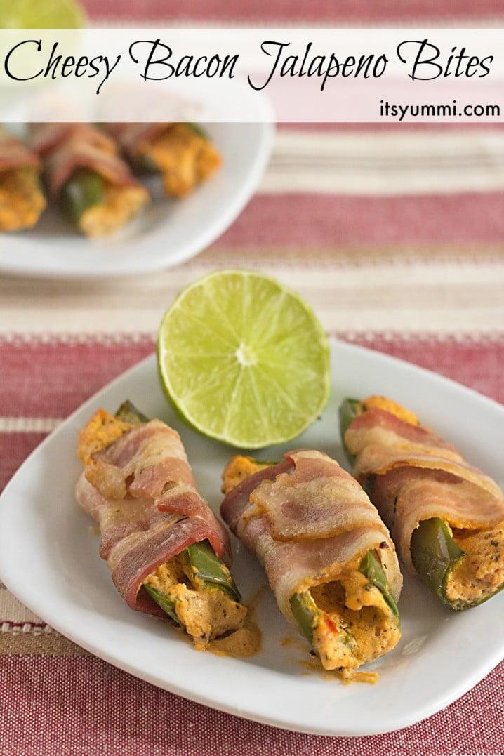 Cheesy Bacon Jalapeno Bites, from ItsYummi.com