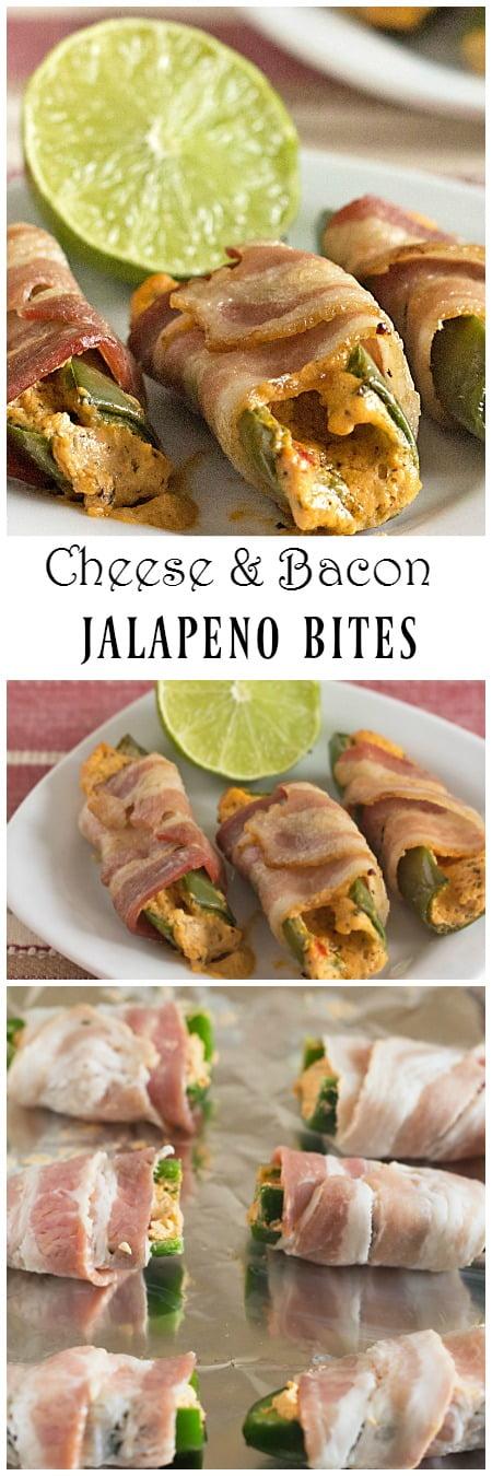 Cheesy Bacon Jalapeno Bites   itsyummi.com   game day food   appetizers   easy appetizers   bacon   jalapeno poppers   snacks   recipe