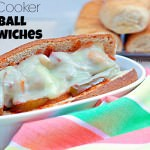 Slow Cooker Meatball Sandwiches Recipe, from ItsYummi.com for #MyPicknSave #shop