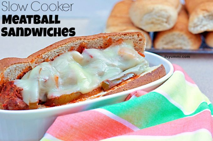 My Pick 'n Save Recipe for Slow Cooker Meatball Sandwiches