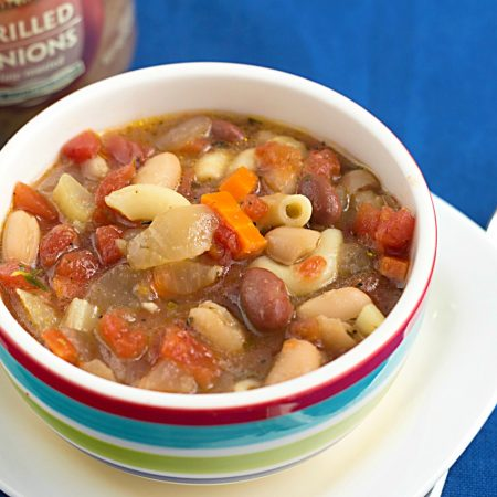 Easy Vegetarian Minestrone Soup