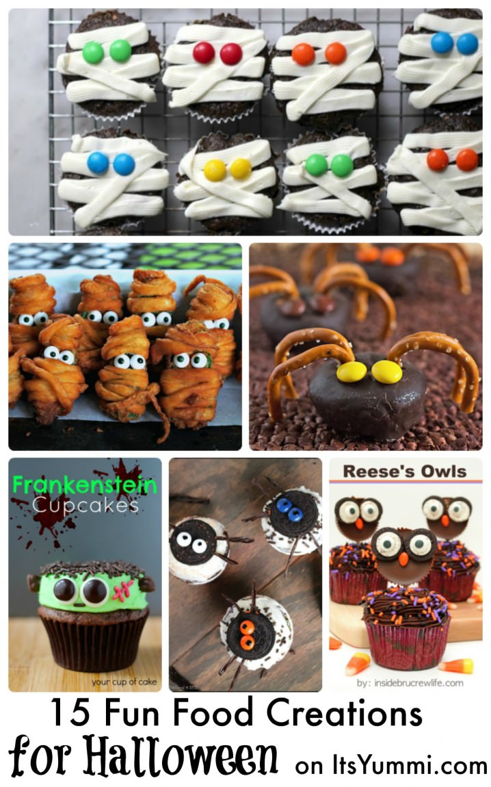 15 Fun Halloween Party Food Ideas - see the spooky fun collection on ItsYummi.com