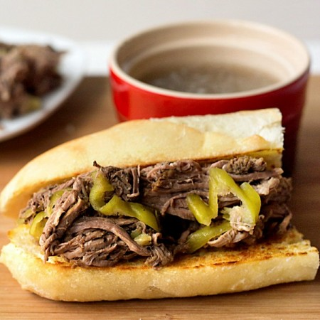 Easy Slow Cooker Italian Beef Recipe