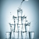 drinks to keep you hydrated -splashing-water-glasses #PlatinumPoints #shop