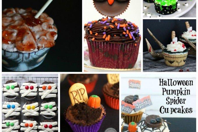 Fun Halloween Cupcake Recipe Roundup - Get 9 delicious recipes for spooky fun on ItsYummi.com