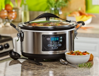 Win this Hamilton Beach 6 quart Set 'n Forget Slow Cooker in the #giveaway on ItsYummi.com! (Ends 10/20/14)