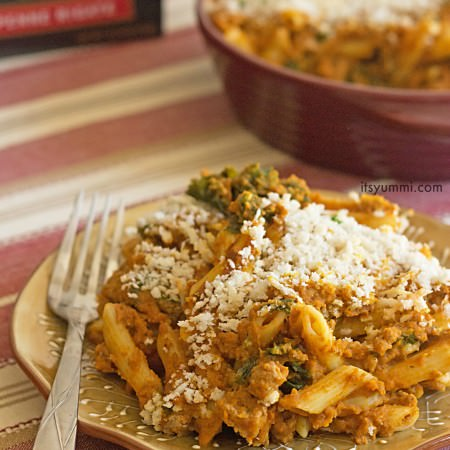 Low Fat Turkey Pumpkin Pasta