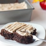 Pumpkin Cream Cheese Brownies Recipe - fudgy chocolate brownies, spiced with fall flavors of pumpkin, cinnamon, nutmeg, and ginger