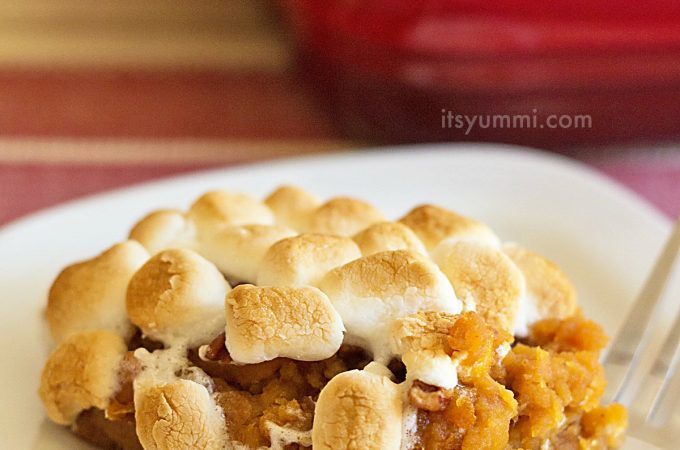 Quick 'n Easy Southern Sweet Potato Casserole (with Marshmallows!)