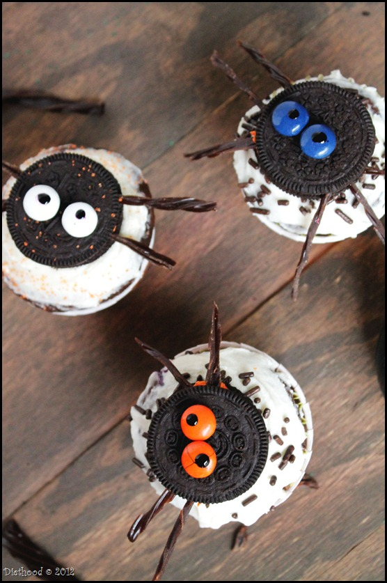 15 Fun Food Creations for Halloween, including Spider Oreo Cupcakes from Diethood - find them all on ItsYummi.com