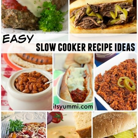 Get easy slow cooker recipe ideas for the simplest, most delicious meals ever! These Crock Pot meals will make your stomach happy!