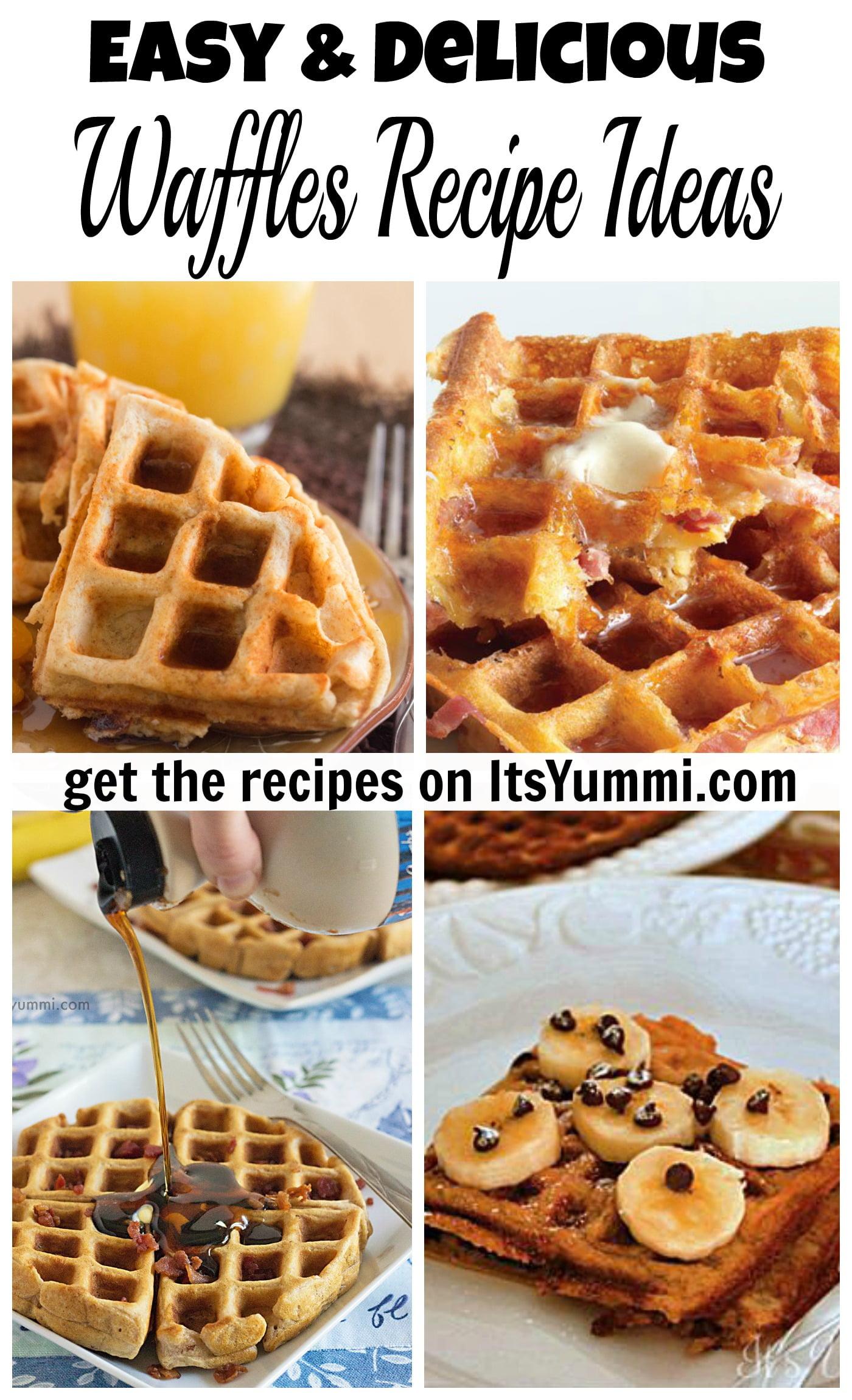 Easy Waffles Recipe Ideas ⋆ Its Yummi