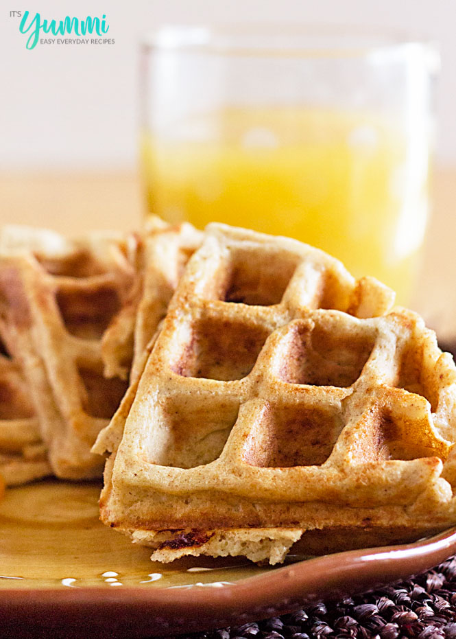Whole Wheat Blender Waffles Recipe