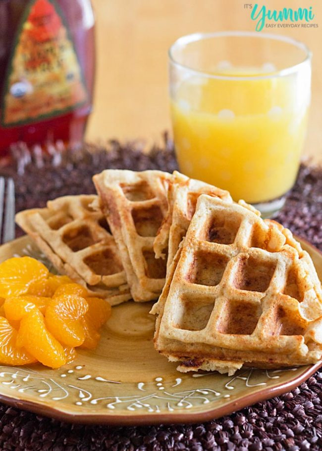 Whole Wheat Blender Waffles