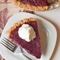 Stokes Purple® sweet potato pie recipe - This easy sweet potato pie recipe is part of the perfect Thanksgiving dinner!
