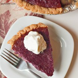 Stokes Purple® sweet potato pie recipe - This easy sweet potato pie recipe is part of the perfect Thanksgiving dinner!