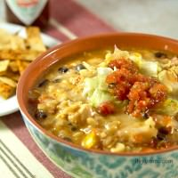Delicious Party Food: Chipotle Chicken Enchiladas Skillet Recipe