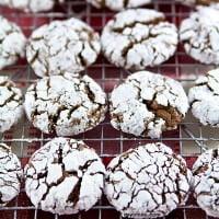Easy Cookie Recipes: Chocolate Gingerbread Crinkles