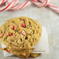 Cookie Butter Peppermint Chip Cookies