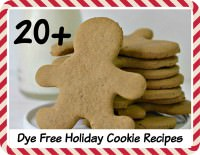 27 Dye Free Holiday Cookie Recipes for Christmas