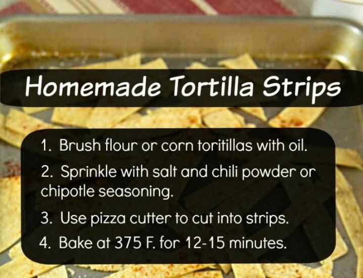 Homemade Tortilla Chips Recipe image