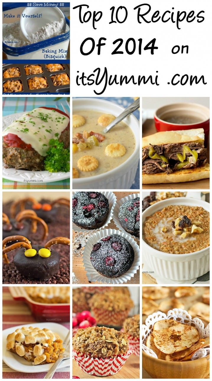 The Top 10 Recipes of 2014 from ItsYummi.com