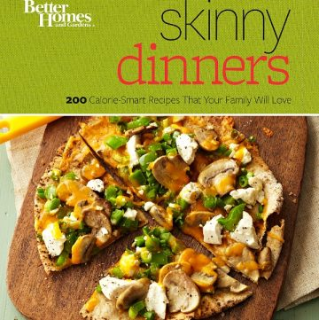 review of Better Homes and Gardens Skinny Dinners Cookbook - read the pros and cons in the review on itsyummi.com