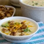 One of Christine Pittman's easy soup recipes: Broccoli Cheddar Soup