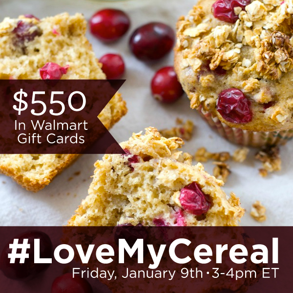 #LoveMyCereal Twitter Party