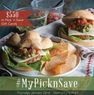 Chat New Year Goals at #MyPickNSave Twitter Party, on Thursday, January 22, 2015 at 12pm CST