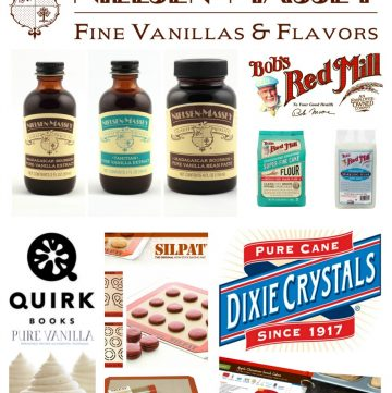 Enter the #VanillaWeek giveaway for your chance to win prizes from Bob's Red Mill, Nielsen-Massey Vanillas, Dixie Sugar, Silpat (Demarle) and more! (ends 2/7/15)