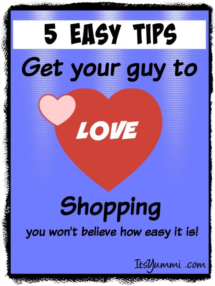 5 Easy Tips to Get a Guy to Love Shopping - You won't believe how easy this is! #DropShopAndOil #ad