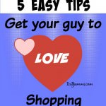 Get a Guy to Love Shopping - 5 Tips! #DropShopAndOil #ad
