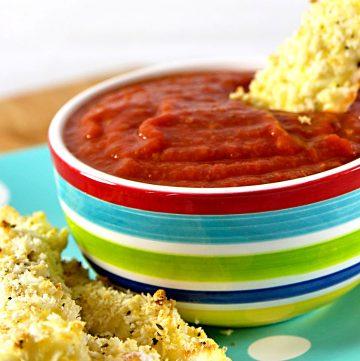mozzarella sticks recipe image