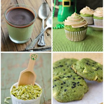 St. Patrick's Day fun doesn't need processed chemicals and food coloring. Get 17 naturally green recipes to help you celebrate. There are recipes for breakfast, lunch, dinner, and dessert!