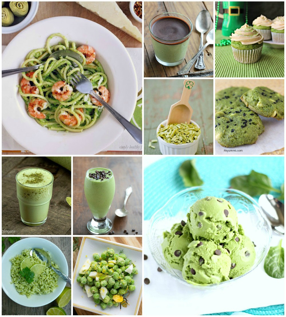 Naturally Green Recipes for St. Patrick\'s Day ~ 17 for the 17th