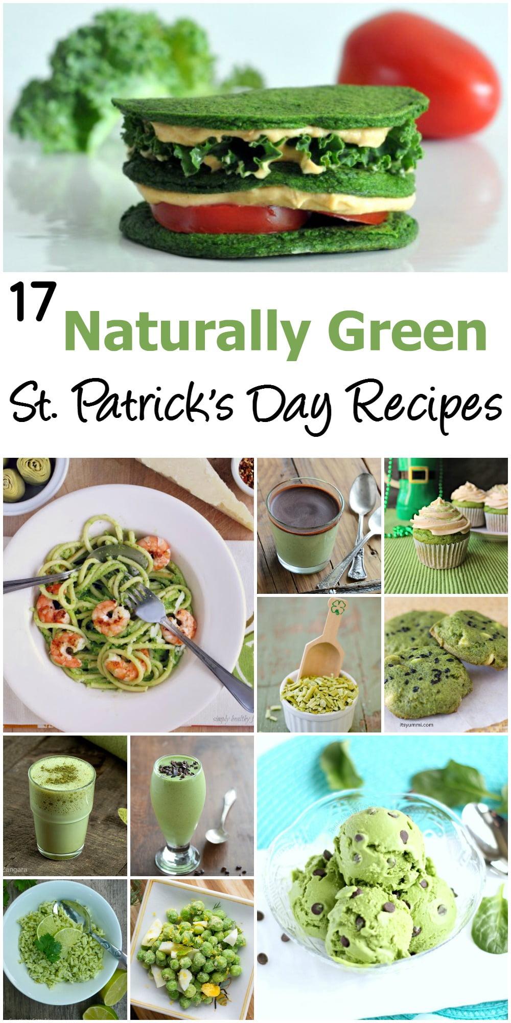 17 Naturally Green Recipes for St. Patrick's Day ~ ItsYummi.com