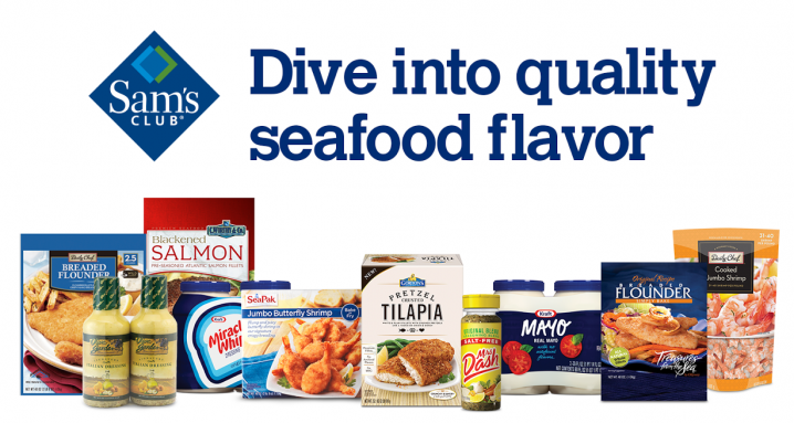 seafood packages from Sam's Club