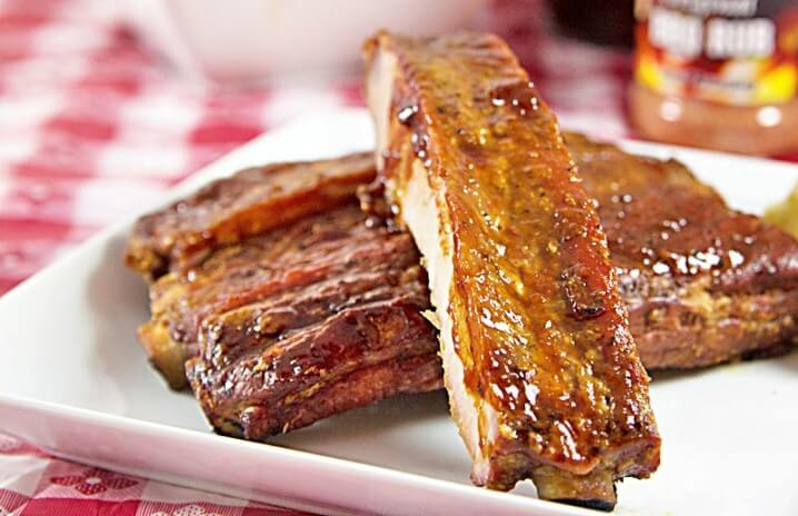Cajun-Spiced Smoked Spare Ribs