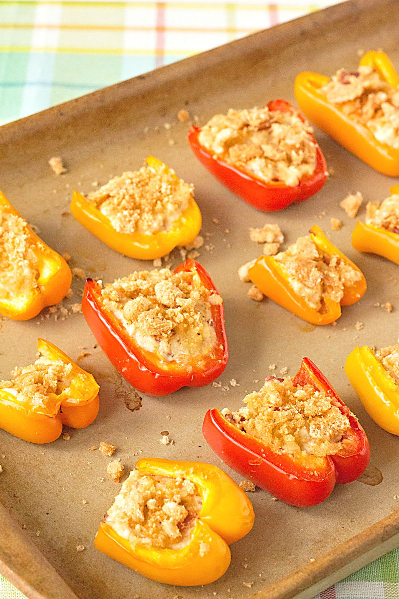 Gluten Free, Low Carb Appetizers - Cheesy Crab Bites